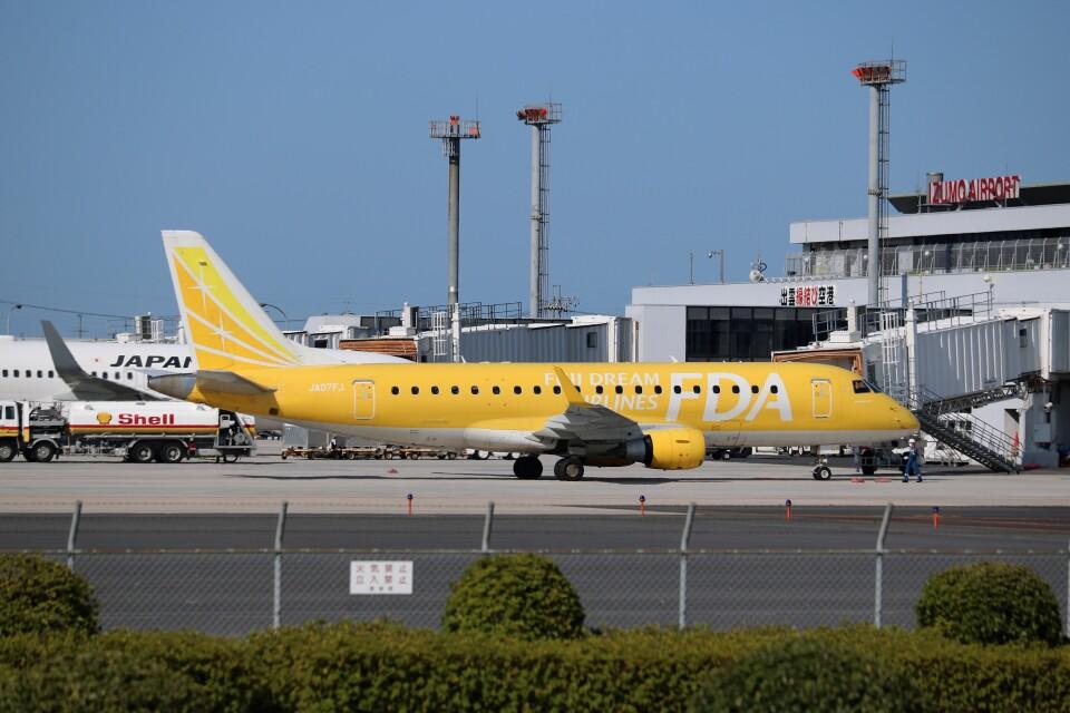 ヒロジーさんのフジドリームエアラインズ Embraer 175 (JA07FJ) 航空フォト