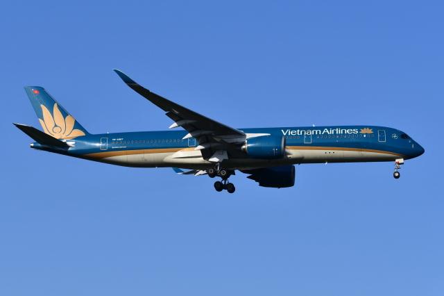 Deepさんが、成田国際空港で撮影したベトナム航空 A350-941の航空フォト(飛行機 写真・画像)