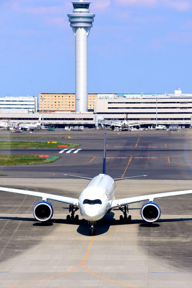 まいけるさんが、羽田空港で撮影したデルタ航空 A350-941の航空フォト(飛行機 写真・画像)