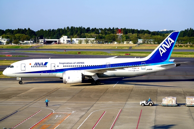 SFJ_capさんが、成田国際空港で撮影した全日空 787-8 Dreamlinerの航空フォト(飛行機 写真・画像)