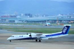 timeさんが、福岡空港で撮影したANAウイングス DHC-8-402Q Dash 8の航空フォト(飛行機 写真・画像)