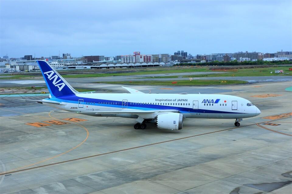 timeさんの全日空 Boeing 787-8 Dreamliner (JA824A) 航空フォト