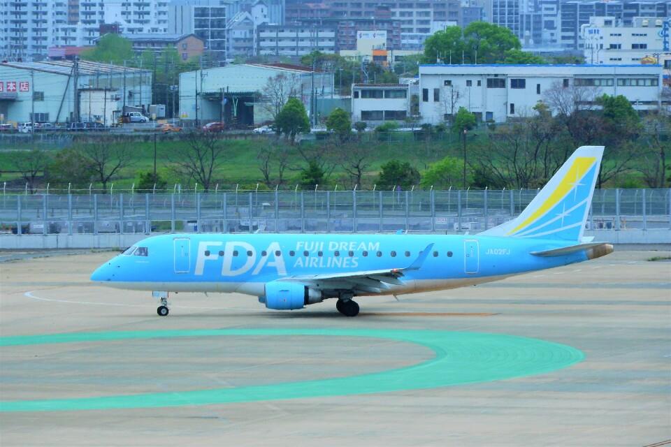 timeさんのフジドリームエアラインズ Embraer 170 (JA02FJ) 航空フォト