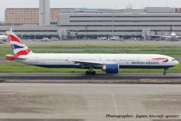 いおりさんが、羽田空港で撮影したブリティッシュ・エアウェイズ 777-336/ERの航空フォト(飛行機 写真・画像)