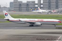 いおりさんが、羽田空港で撮影した中国東方航空 A330-343Xの航空フォト(飛行機 写真・画像)