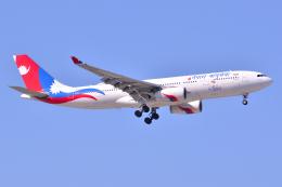 フリューゲルさんが、成田国際空港で撮影したネパール航空 A330-243の航空フォト(飛行機 写真・画像)