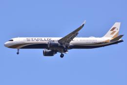 フリューゲルさんが、成田国際空港で撮影したスターラックス・エアラインズ A321-252NXの航空フォト(飛行機 写真・画像)
