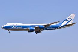 フリューゲルさんが、成田国際空港で撮影したエアブリッジ・カーゴ・エアラインズ 747-8HVFの航空フォト(飛行機 写真・画像)