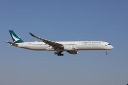 OS52さんが、成田国際空港で撮影したキャセイパシフィック航空 A350-1041の航空フォト(飛行機 写真・画像)