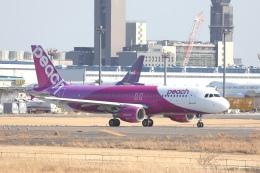 OS52さんが、成田国際空港で撮影したピーチ A320-214の航空フォト(飛行機 写真・画像)
