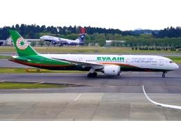 SFJ_capさんが、成田国際空港で撮影したエバー航空 787-9の航空フォト(飛行機 写真・画像)
