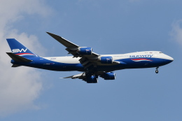 Deepさんが、成田国際空港で撮影したシルクウェイ・ウェスト・エアラインズ 747-83QFの航空フォト(飛行機 写真・画像)