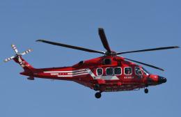 チャーリーマイクさんが、東京ヘリポートで撮影した東京消防庁航空隊 AW189の航空フォト(飛行機 写真・画像)
