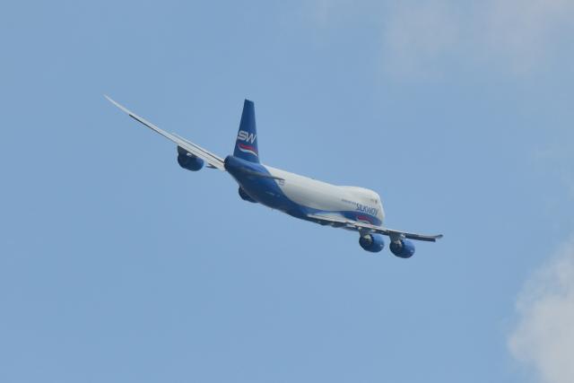 saoya_saodakeさんが、成田国際空港で撮影したシルクウェイ・ウェスト・エアラインズ 747-83QFの航空フォト(飛行機 写真・画像)