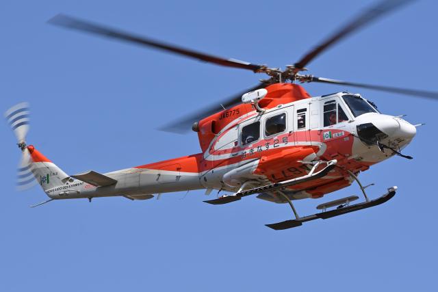 YouKeyさんが、札幌飛行場で撮影した北海道防災航空隊 412EPの航空フォト(飛行機 写真・画像)