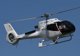 チャーリーマイクさんが、東京ヘリポートで撮影した日本個人所有 EC130T2の航空フォト(飛行機 写真・画像)