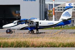 A.Tさんが、八尾空港で撮影した第一航空 DHC-6-400 Twin Otterの航空フォト(飛行機 写真・画像)