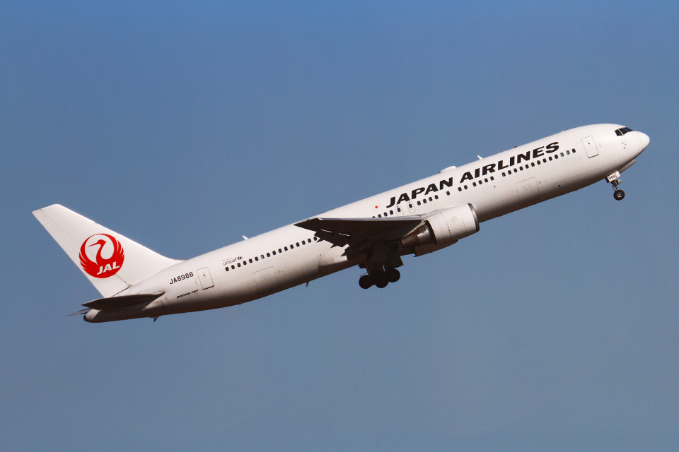 りんたろうさんの日本航空 Boeing 767-300 (JA8986) 航空フォト