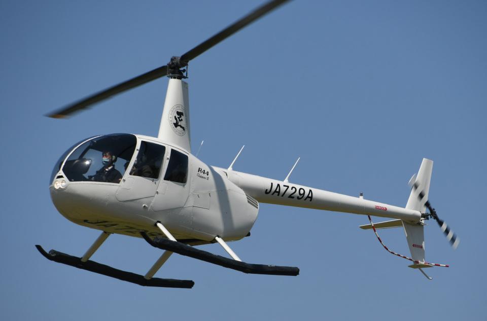 チャーリーマイクさんのエス・ジー・シー佐賀航空 Robinson R44 (JA729A) 航空フォト