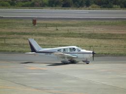 ヒコーキグモさんが、岡山空港で撮影した日本個人所有 PA-28-151 Cherokee Warriorの航空フォト(飛行機 写真・画像)
