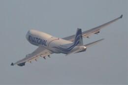 JUTENさんが、中部国際空港で撮影したナショナル・エアラインズ 747-412(BCF)の航空フォト(飛行機 写真・画像)