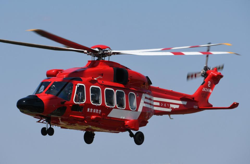 チャーリーマイクさんの東京消防庁航空隊 Leonardo AW189 (JA24HB) 航空フォト