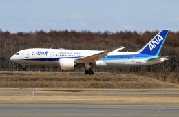 にしやんさんが、新千歳空港で撮影した全日空 787-8 Dreamlinerの航空フォト(飛行機 写真・画像)