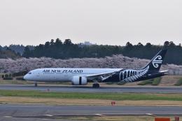 ひこ☆さんが、成田国際空港で撮影したニュージーランド航空 787-9の航空フォト(飛行機 写真・画像)