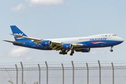 Cozy Gotoさんが、成田国際空港で撮影したシルクウェイ・ウェスト・エアラインズ 747-83QFの航空フォト(飛行機 写真・画像)