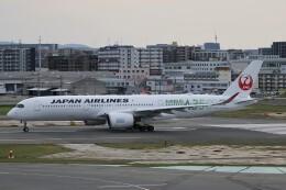ドラパチさんが、福岡空港で撮影した日本航空 A350-941の航空フォト(飛行機 写真・画像)
