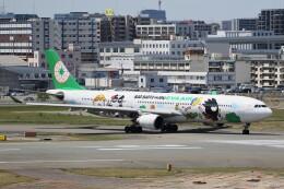 ドラパチさんが、福岡空港で撮影したエバー航空 A330-302Xの航空フォト(飛行機 写真・画像)