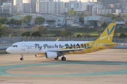 ドラパチさんが、福岡空港で撮影したピーチ A320-214の航空フォト(飛行機 写真・画像)