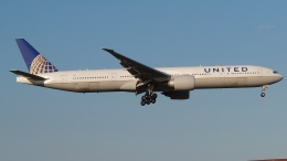 Garnet Worldさんが、成田国際空港で撮影したユナイテッド航空 777-322/ERの航空フォト(飛行機 写真・画像)
