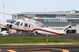 きりしまさんが、東京ヘリポートで撮影した東邦航空 S-76C+の航空フォト(飛行機 写真・画像)