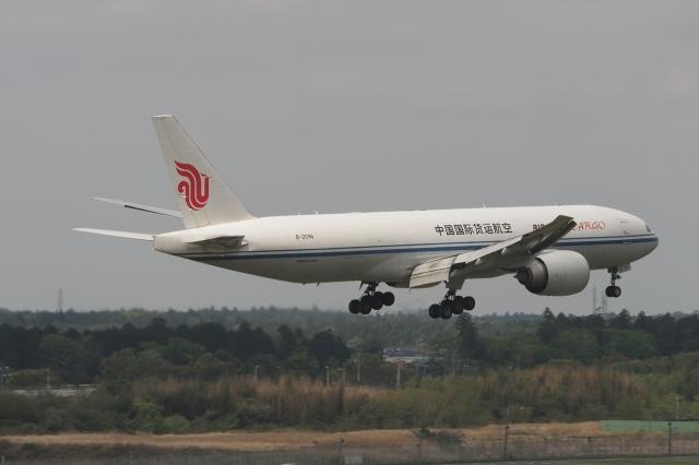 木人さんが、成田国際空港で撮影した中国国際貨運航空 777-FFTの航空フォト(飛行機 写真・画像)