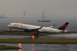 HNANA787さんが、羽田空港で撮影したデルタ航空 A350-941の航空フォト(飛行機 写真・画像)