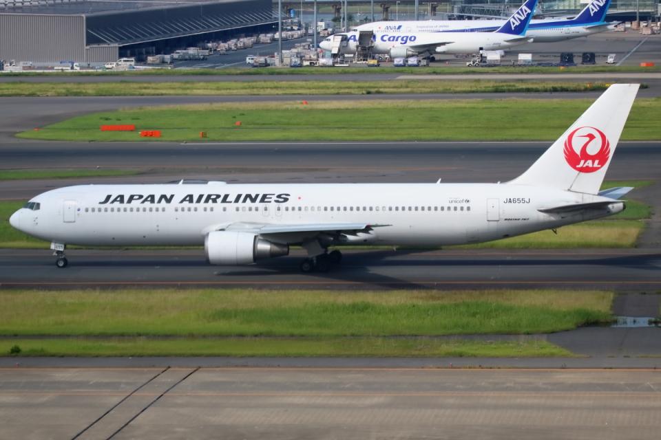 ▲®さんの日本航空 Boeing 767-300 (JA655J) 航空フォト