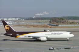 senyoさんが、成田国際空港で撮影したUPS航空 767-34AF/ERの航空フォト(飛行機 写真・画像)