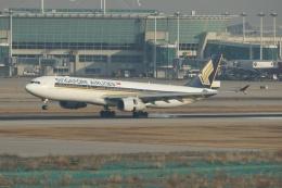 磐城さんが、仁川国際空港で撮影したシンガポール航空 A330-343Xの航空フォト(飛行機 写真・画像)