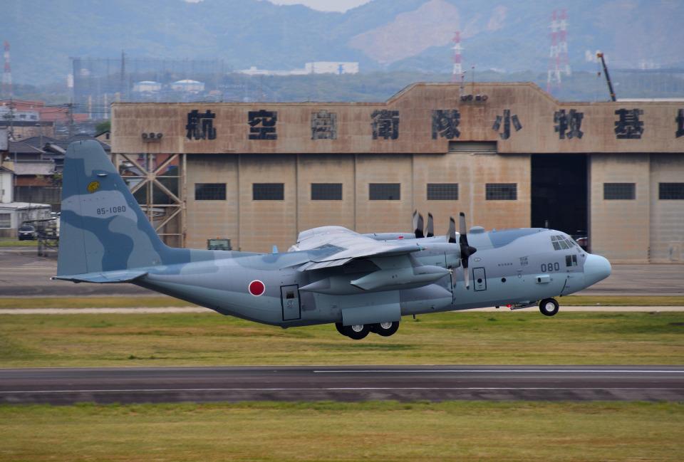 mojioさんの航空自衛隊 Lockheed C-130 Hercules (85-1080) 航空フォト