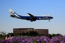 ☆ライダーさんが、成田国際空港で撮影したエアブリッジ・カーゴ・エアラインズ 747-867F/SCDの航空フォト(飛行機 写真・画像)