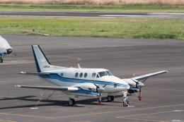 lonely-wolfさんが、岡南飛行場で撮影した日本個人所有 C90A King Airの航空フォト(飛行機 写真・画像)