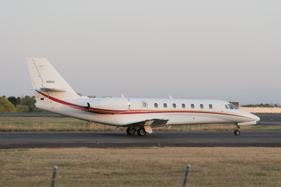 lonely-wolfさんの朝日航洋 Cessna 680 Citation Sovereign/Sovereign+ (JA680C) 航空フォト