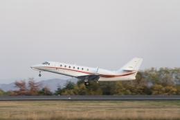 lonely-wolfさんが、岡山空港で撮影した朝日航洋 680 Citation Sovereignの航空フォト(飛行機 写真・画像)