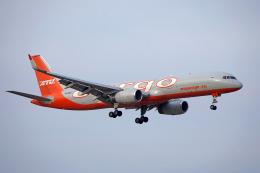 ちゃぽんさんが、成田国際空港で撮影したアビアスター 757-223(PCF)の航空フォト(飛行機 写真・画像)
