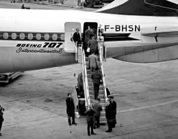 Y.Todaさんが、羽田空港で撮影したエールフランス航空 707-300の航空フォト(飛行機 写真・画像)