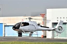 ヘリオスさんが、東京ヘリポートで撮影した日本個人所有 EC130T2の航空フォト(飛行機 写真・画像)