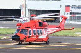 ヘリオスさんが、東京ヘリポートで撮影した東京消防庁航空隊 AW189の航空フォト(飛行機 写真・画像)