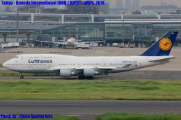 Chofu Spotter Ariaさんが、羽田空港で撮影したルフトハンザドイツ航空 747-430の航空フォト(飛行機 写真・画像)