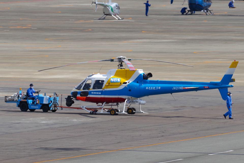 yabyanさんの中日本航空 Aerospatiale AS350 Ecureuil/AStar (JA21NB) 航空フォト
